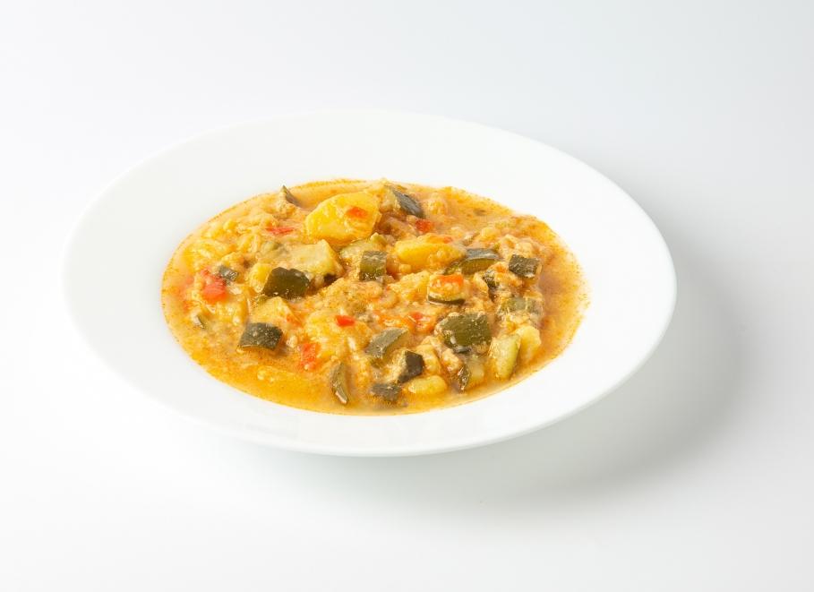Pisto de verduras tradicional